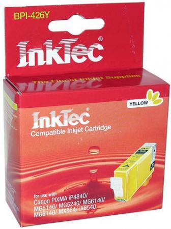 Картридж совместимый InkTec BPI-426Y (CLI-426Y) желтый для CANON