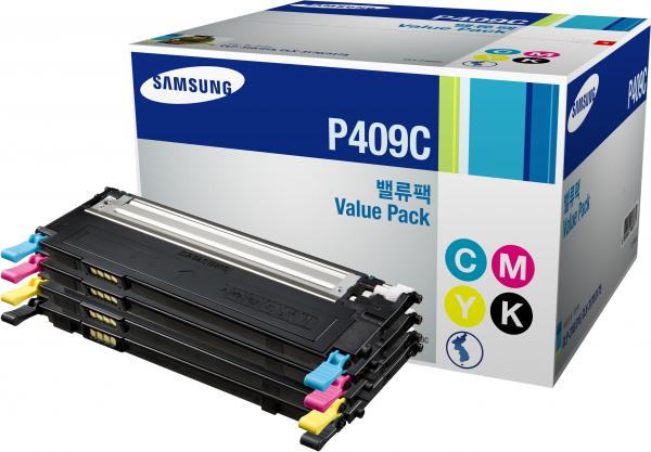Набор картриджей Samsung P409C 4 цвета оригинальный