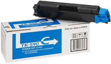 Картридж Kyocera TK-590C голубой оригинальный