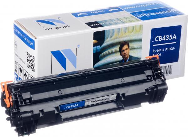 Картридж HP CB435A совместимый NV Print