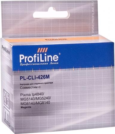 Картридж совместимый ProfiLine CLI-426M для Canon пурпурный с чипом