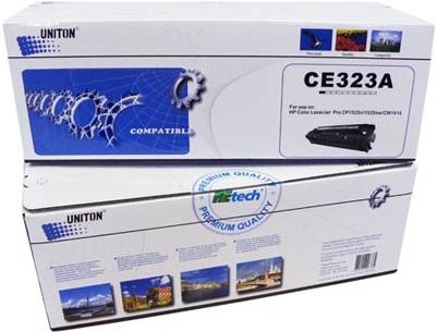 Картридж совместимый UNITON Premium CE323A пурпурный для HP