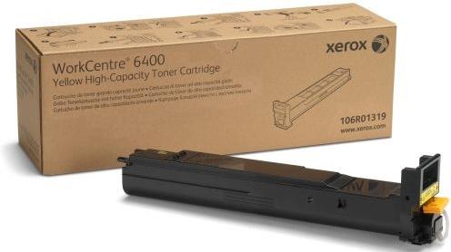 Картридж XEROX 106R01319 желтый оригинальный