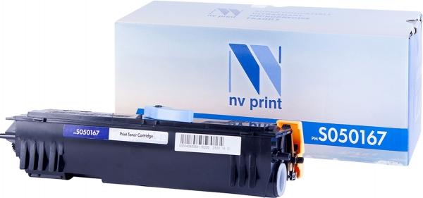 Картридж совместимый NVP S050167 для Epson
