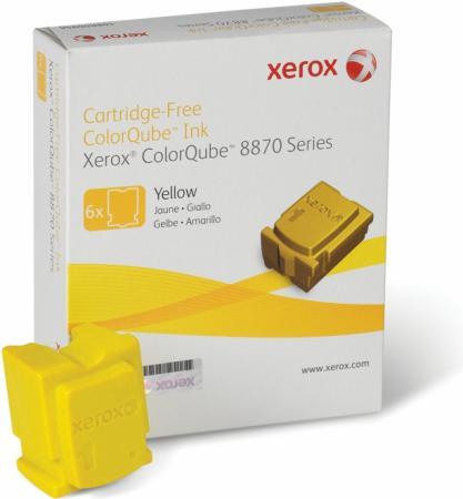 Твердые чернила Xerox 108R00960 желтый оригинальный 6 шт.