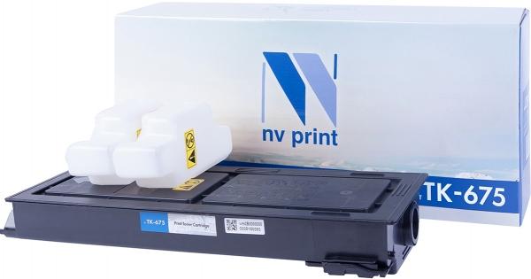 Картридж совместимый NVPrint TK-675 для Kyocera