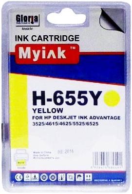 Картридж совместимый MyInk CZ112AE желтый для HP
