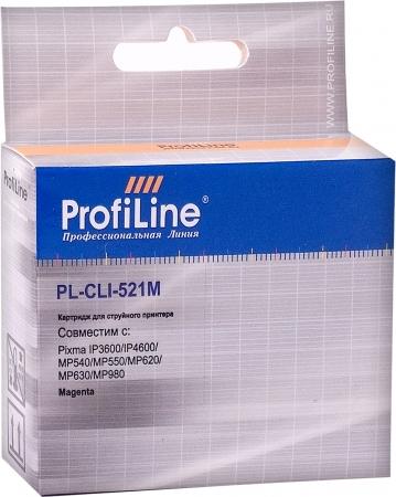 Картридж совместимый ProfiLine CLI-521M для Canon с чипом