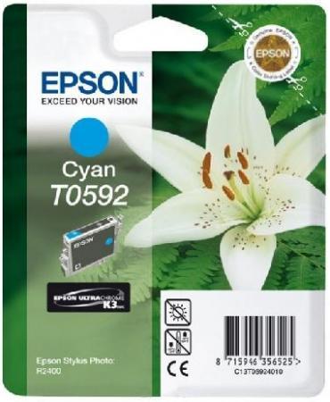 Картридж EPSON C13T05924010 голубой оригинальный