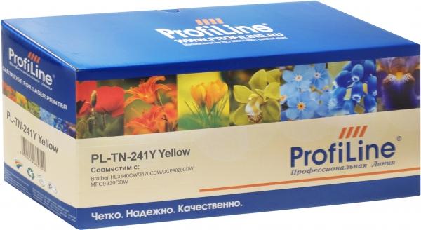 Картридж совместимый ProfiLine TN-241Y для Brother