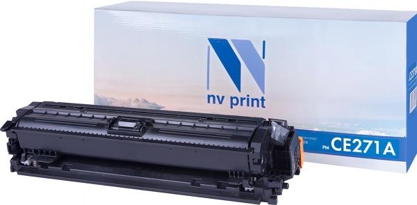 Картридж совместимый NVPrint CE271A для HP голубой