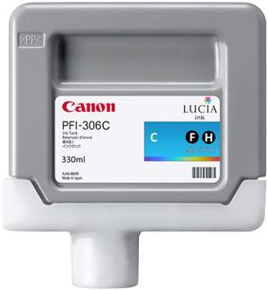 Картридж CANON PFI-306C голубой оригинальный