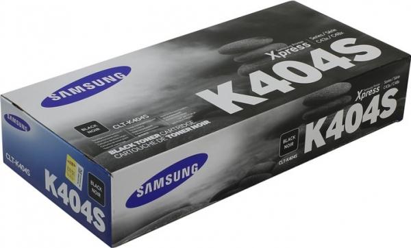 Картридж Samsung CLT-K404S черный оригинальный