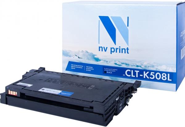 Картридж совместимый NVP CLT-K508L черный для Samsung