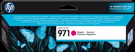 Картридж HP 971 пурпурный оригинальный