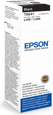 Картридж EPSON T6641 (C13T66414A) черный оригинальный