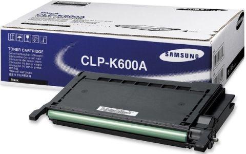 Картридж Samsung CLP-K600A черный оригинальный