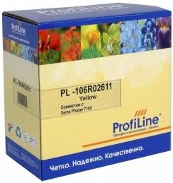 Картридж совместимый ProfiLine 106R02611 желтый для Xerox (2шт/уп)