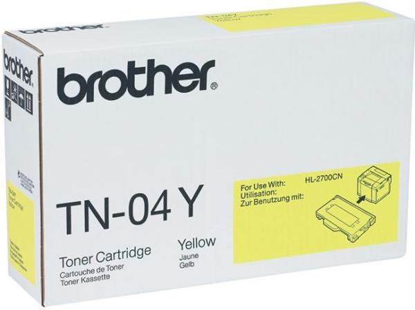 Картридж Brother TN-04Y желтый оригинальный