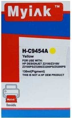 Картридж совместимый MyInk С9454А желтый для HP