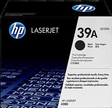 Картридж HP Q1339A черный оригинальный