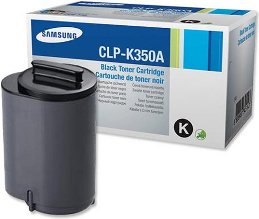 Картридж Samsung CLP-K350A черный оригинальный