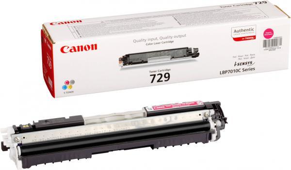 Картридж CANON 729M пурпурный оригинальный