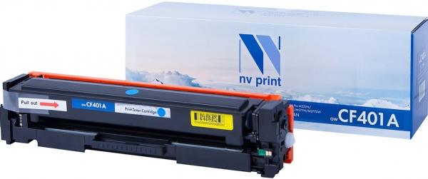 Картридж совместимый NVPrint CF401A для HP голубой