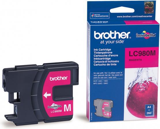 Картридж Brother LC980M пурпурный оригинальный
