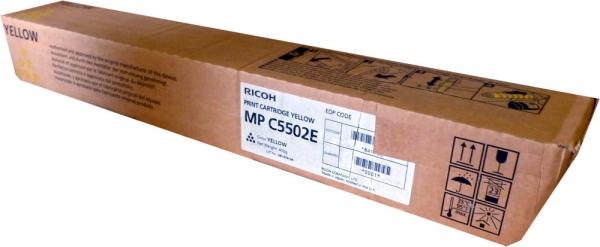 Тонер-картридж MPC5502E для Ricoh желтый
