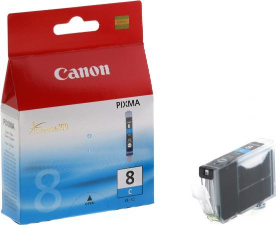 Картридж CANON CLI-8C голубой оригинальный