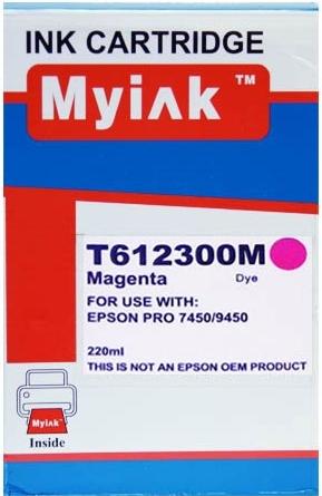 Картридж совместимый MyInk T6123 красный для Epson