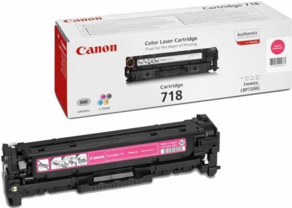 Картридж Canon 718M пурпурный совместимый NV Print