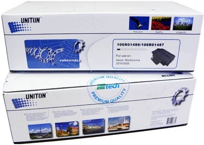 Картридж совместимый UNITON Premium 106R01487 черный для Xerox