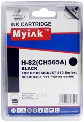 Картридж совместимый MyInk CH565A черный для HP