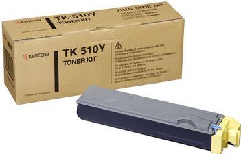 Картридж Kyocera TK-510Y желтый оригинальный