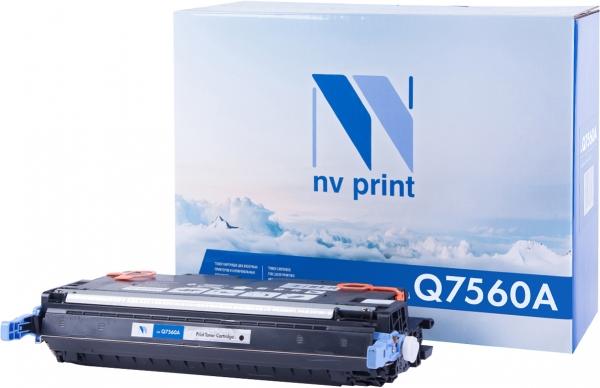 Картридж совместимый NV Print Q7560A черный для HP