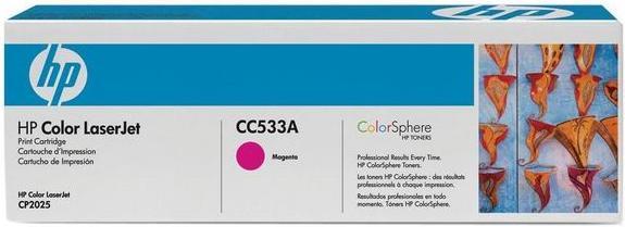 Картридж HP CC533A пурпурный совместимый UNITON Eco
