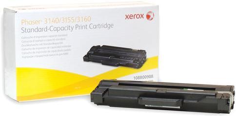 Тонер-картридж XEROX 108R00908 черный оригинальный