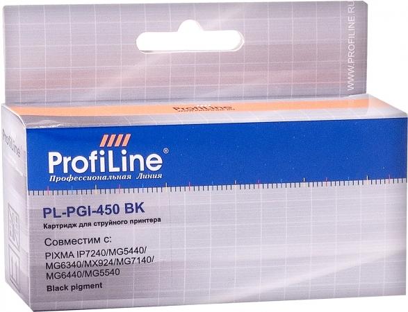 Картридж совместимый ProfiLine PGI-450PGBK для Canon