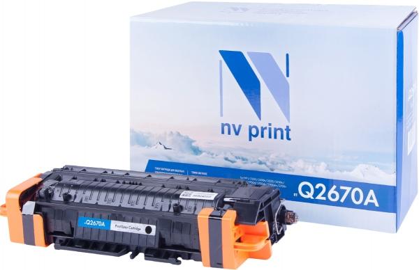 Картридж совместимый NVP Q2670A черный для HP