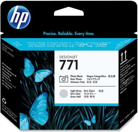 Печатающая головка HP 771 Photo Designjet черный, светло-серый оригинальный