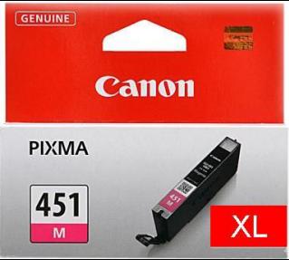 Картридж Canon Ink CLI-451XLM красный оригинальный