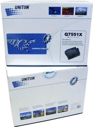 Картридж совместимый UNITON Premium Q7551X черный для HP
