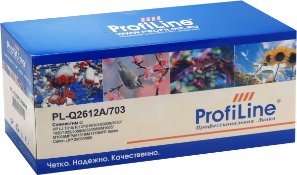 Картридж совместимый ProfiLine Q2612A/703 black для HP