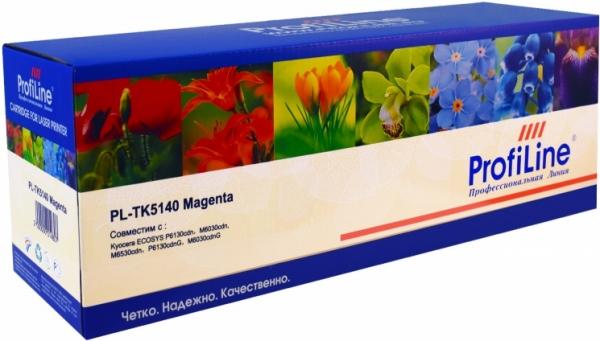 Картридж совместимый ProfiLine TK-5140M пурпурный для Kyocera