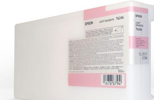 Картридж EPSON C13T624600 светло-пурпурный оригинальный
