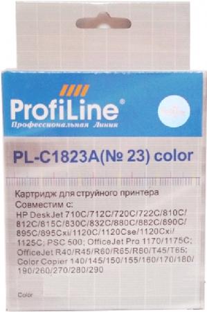 Картридж совместимый ProfiLine C1823A для HP colour