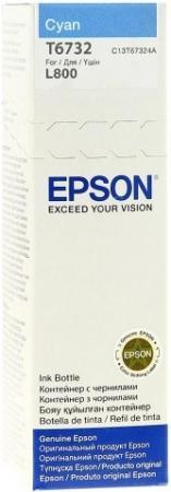 Чернила EPSON T67324A для L800 голубой 70 мл