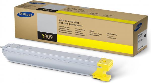 Картридж Samsung CLT-Y809S желтый оригинальный